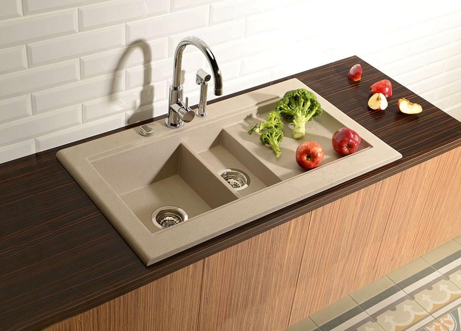 Kuchyňské Granitové Dřezy Fajn Koupelny Vybavení Koupelen